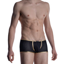 "Трусы-боксеры ""M2008 Bungee Pants - Black / Gold"""