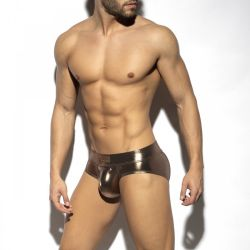 "Трусы-брифы ""Shiny Trendy Push Up Brief - Gold"""