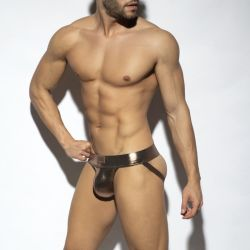 "Трусы-джоки ""Shiny Trendy Push Up Jock - Gold"""