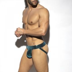 "Трусы-джоки ""Shiny Trendy Push Up Jock - Cobalt"""
