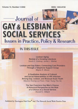 Journal of Gay & Lesbian Social Services. Volume 14, Number 3 / 2002