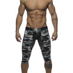 "Штаны-леггинсы ""Fetish Knee Length Pant - Camouflage Charcoal"""