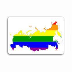 "Магнит ""Gay Russia"" (SALE!)"