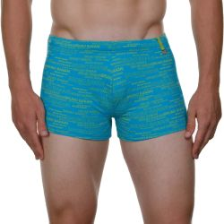 "Плавки-боксеры ""Vip Swim Short - Turquoise/Green"" (SALE!)"