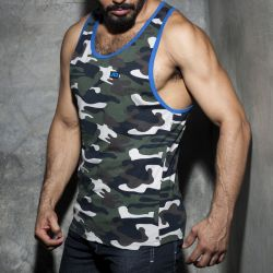 "Майка-безрукавка ""Fetish Camo Tank Top - Royal Blue"""