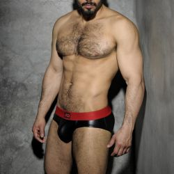 "Трусы-брифы ""Fetish Rub Brief - Red"" (SALE!)"