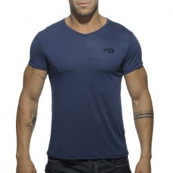 "Футболка ""Basic V-Neck T-Shirt - Navy"""