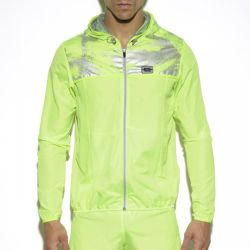 "Куртка - ветровка ""Tech Metallic Jacket - Lemon Green"" (SALE!)"