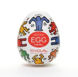 "Мастурбатор ""Tenga Egg - Keith Haring Special Dance Edition"""