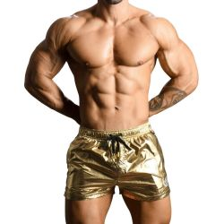 "Плавки-шорты ""Golden Boy Swim Shorts Metallic Short - Gold"" (SALE!)"