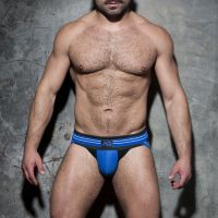 "Трусы-джоки ""Double Stripe Jock - Royal Blue"""