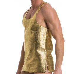 "Майка-безрукавка ""Dusk 2 Dawn Loose Tanktop - Gold"" (SALE!)"