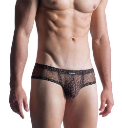 "Трусы-брифы ""M855 Cheeky Brief - Leopard"""