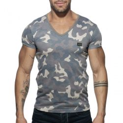 "Футболка ""Washed Camo T-Shirt - Camouflage"""