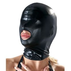 "Маска ""Bad Kitty - 1 Hole Hood Wetlook Black"""