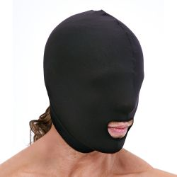 "Маска ""Lux Fetish - Open Mouth Stretch Hood"""